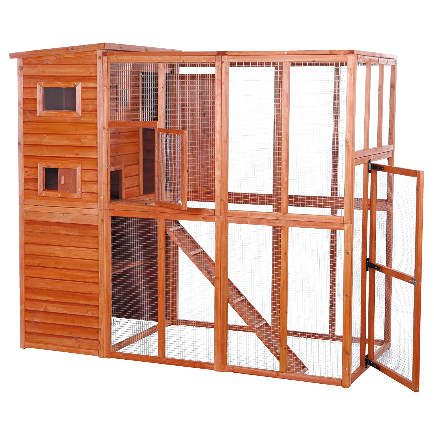 Purchase the best quality outdoor catio for your apartment balcony to allow your cats a glimpse of the outside world!