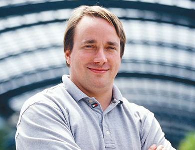 Linus Torvalds, founder of Linux.