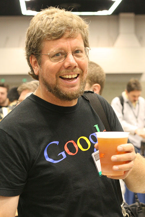 Guide van Rossum, the founder of the Python programming language.