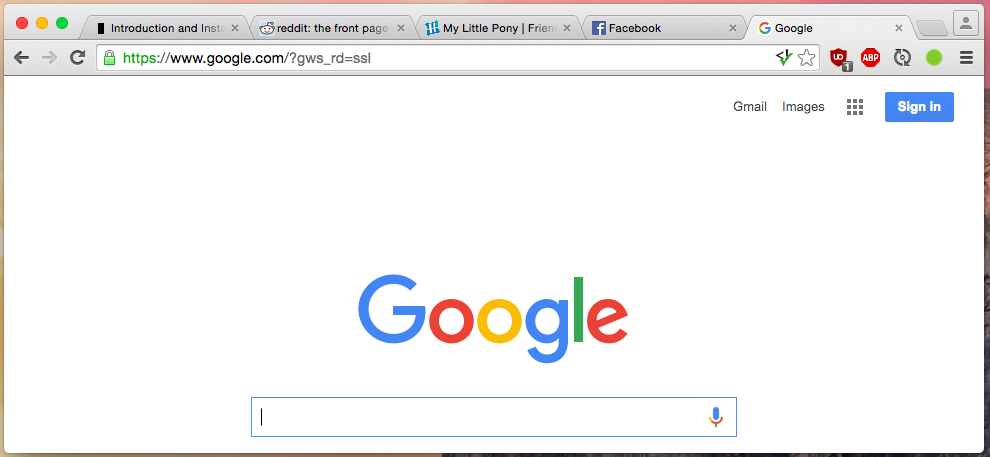 Multiple tabs open in Google Chrome browser.